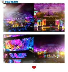 MG6 P3.9 led wall from YES TECH are used in Italy's Got Talent~ Bright and colorful display effect let the show be more charming~