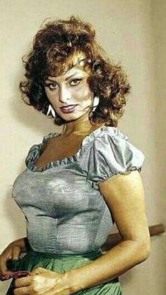 Italian Women, Italian Beauty, Classic Actresses, Beautiful Actresses, Loren Sofia, Sophia Loren Images, Gina Lollobrigida, Italian Actress, Divas