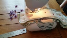 Cloth Menstrual Pad Sewing Tutorial - Sew Along Turned & Topstitched
