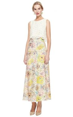 Gregory Parkinson Corded Lace Top by Gregory Parkinson for Preorder on Moda Operandi