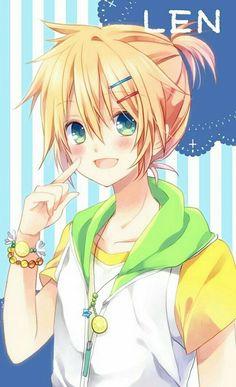 A cutie Kagamine Len - Vocaloid