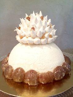 Mont Blanc Noël meringue gâteau marrons glacés chantilly crème de marron