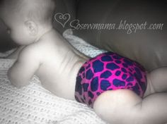 DrammyDroopers cloth AI2 diaper. Adorable.