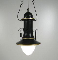AreaNeo | Peter Behrens AEG Sparbogen pendant lamp - Design of the Times - Peter Behrens - AEG - Sparbogen, 1907-08