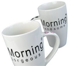 Morning Gorgeous & Handsome Mug Set