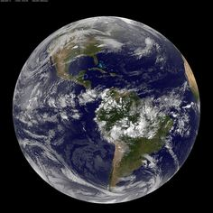 Full Disk Image of Earth by NASA Goddard Photo and Video, via Flickr