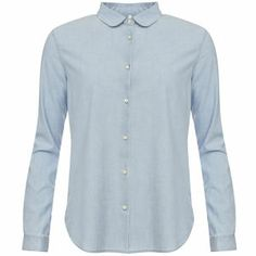 Levi's Made & Crafted Women's Denim Chambray Shirt - Light Blue: Image 01