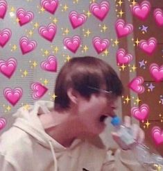 """""""BTS thanked the president for mentioning us. They even said """"our armys"""". OUR Remember during their wings tour, Taehyung keeps saying """"Armys, you belong to us."""" We belong to BTS. Yoonmin, Bts Emoji, Bts Face, Heart Meme, Bts Meme Faces, Cute Love Memes, Kpop Memes, Funny Memes, Bts Reactions"""