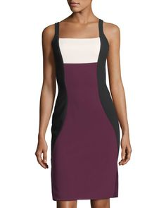 LIKELY OLYMPIA COLORBLOCK SHEATH DRESS, MULTI. #likely #cloth #