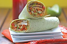 thai_tofu-vegetable_wraps vegan sandwich ideas