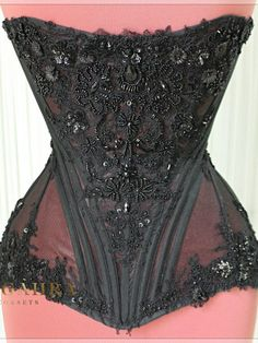 "Exclusive victorian corset ""Queen mystery""   Fangahra Corsets"