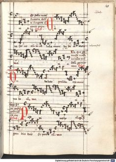 Cantionale, Geistliche Lieder mit Melodien. Münchner Marienklage Tegernsee, 3. Drittel 15. Jh. Cgm 716  Folio 148