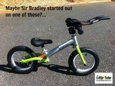 Blog - Was this Sir Bradley's first bike? | Little Bike Company #cycling