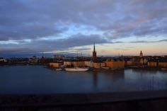 Stockholm is fantastic in every season! Enjoy this amazing view by going to Monteliusvägen!
