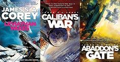 The Expanse Series, Leviathan Wakes, Caliban's War and Abaddon's Gate: Amazon.co.uk: James S. A. Corey: Books