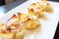 Baked Shrimp Rangoon Recipe - Newlywed Survival
