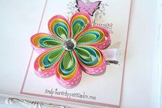 Caribbean Flower Bow Clippie