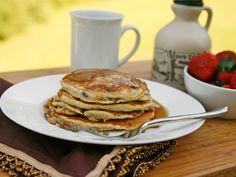 Banana toffee pancakes (bananas+pancakes=heaven)