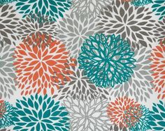 Bloom Pacific Outdoor Premier Print Fabric