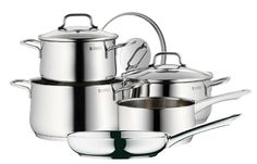 WMF Collier 8 Piece 18/10 Stainless Steel Cookware Set * Be sure to check out this awesome product.