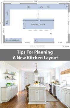 Remodel Chapter The Big Reveal Tips For Planning A New Kitchen Layout That s Full Of Function amp; Looks A Heckova Lot Better TooTips For Planning A New Kitchen Layout That s Full Of Function amp; Looks A Heckova Lot Better Too Kitchen Decorating, Diy Kitchen, Kitchen And Bath, Cheap Kitchen, Kitchen Ideas, Country Kitchen, Ranch Kitchen, 1950s Kitchen, Best Kitchen Layout