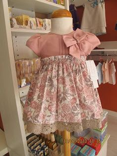 Cute idea for My Twinn and other doll dress.