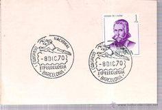 MATASELLOS CON SELLO 8.DIC.70 . EXPOSICION FILATELICA BARCELONA