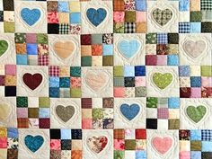 Urban Nine Patch Quilt Tutorial Green And Multicolor Hearts And Nine Patch Quilt Photo 3 Nine Patch Quilt Block Instructions Nine Patch Quilts Nevada Mo