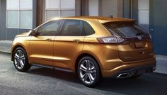 2016 Ford Edge is a mid-size SUV vehicle that belongs to the American company Ford. Ford 2016, 2016 Ford Edge, Edge 2017, Suv Trucks, Suv Cars, Automobile, Compare Cars, Mid Size Suv, Cars Usa