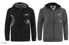 Ski Doo Mens x Team Hoodie 2013 Black Charcoal Gray 453617 Ecklund Motorsports $38.99