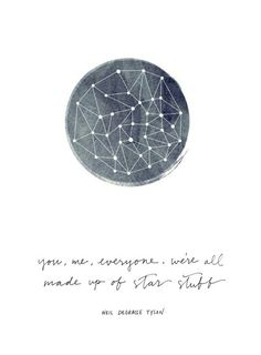 We're all made of stardust