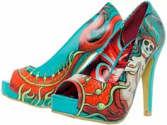 Mermaid heels