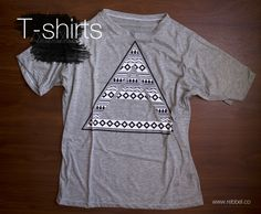 T - Shirt TriangleRef 002E www.rebbel.co