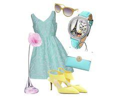 Un abito a corolla e gioielli Luca Barra per valorizzare il proprio stile! #outfit #look #tendenzemoda #pe2015 #consiglidistile #lucabarra