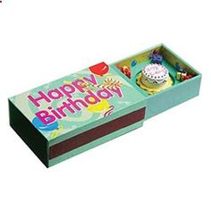 birthday party in a #matchbox To order your business' own branded #matchbooks or #matchboxes GoTo: www.GetMatches.com or CALL 800.605.7331. kingmatch.wordpre...