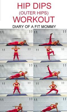 Hip Dips Workout: Exercises to Build Your Hip Muscles   diaryofafitmommy.com
