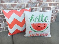 "18"" Summer Pillow Covers 