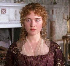 Kate Winslet as Marianne Dashwood in Sense and sensibility. Theatre Costumes, Movie Costumes, Jane Austen Movies, Ang Lee, Becoming Jane, Emma Thompson, True Romance, Beautiful Costumes, Kate Winslet