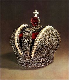Russian Crown Jewels: The Great Imperial Crown by kara