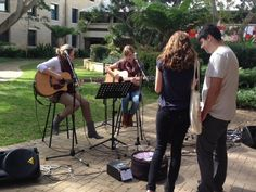 Live music at Murdoch Open Day!