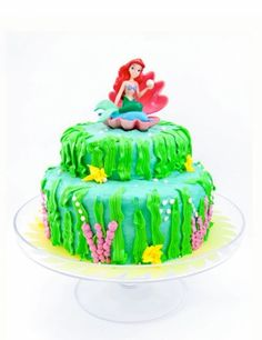 Recipe The Little Mermaid Birthday Cake by Cafe Munchkin Kid