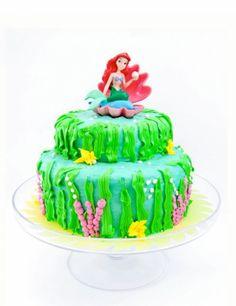 Recipe The Little Mermaid Birthday Cake by Cafe Munchkin Kid