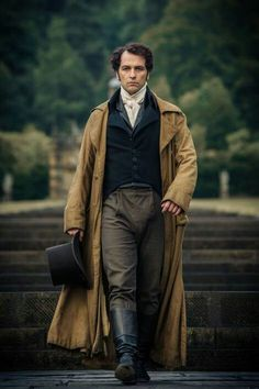 """""""It is a truth universally acknowledged that a man in possession of a"""" Mr Darcy acting credit instantly becomes hot.    Death Comes to Pemberley - Matthew Rhys as Mr Darcy 2013"""