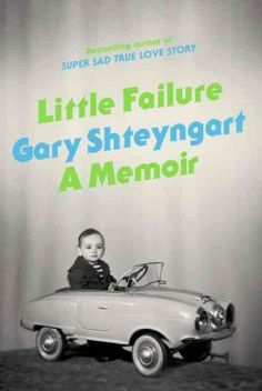 Little failure : a memoir by Gary Shteyngart.  Click the cover image to check out or request the biographies and memoirs kindle.