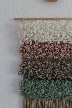 Wanddeko - Handgewebter Wandteppich || MILLA - ein Designerstück von mapeela bei DaWanda