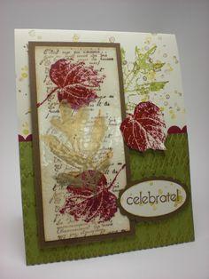 French Foliage Autumn Card