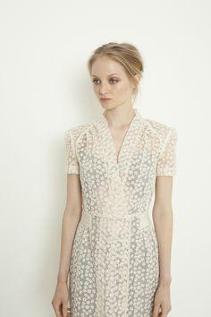 lace dress | via RedBird Paperie