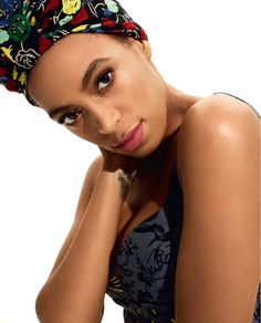Solange's best outfit is her confidence in her African roots.