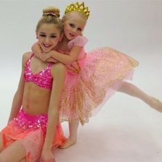 Chloe and Clara Lukasiak personal dance photo