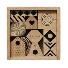 OYOY Uro i Træ Puzzle Me